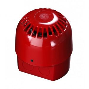 55000-018 | AlarmSense Open Area Sounder – Red