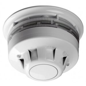 55000-394 | AlarmSense Optical Smoke Detector and Sounder Beacon Base