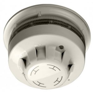 55000-395 | AlarmSense Integrating Optical Smoke Detector & Sounder Beacon Base