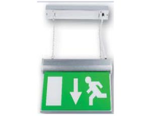 BE10-LED-M3-C | LED Emergency Hanging Exit Sign