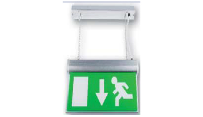 BE10-LED-M3-W | LED Emergency Hanging Exit Sign