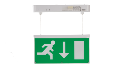 BE3D-LED-M3-W | LED Emergency Hanging Exit Sign