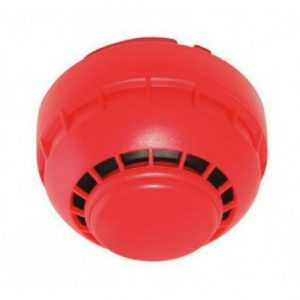 Fike 302-0001 | Twinflex Hitari Sounder In Red